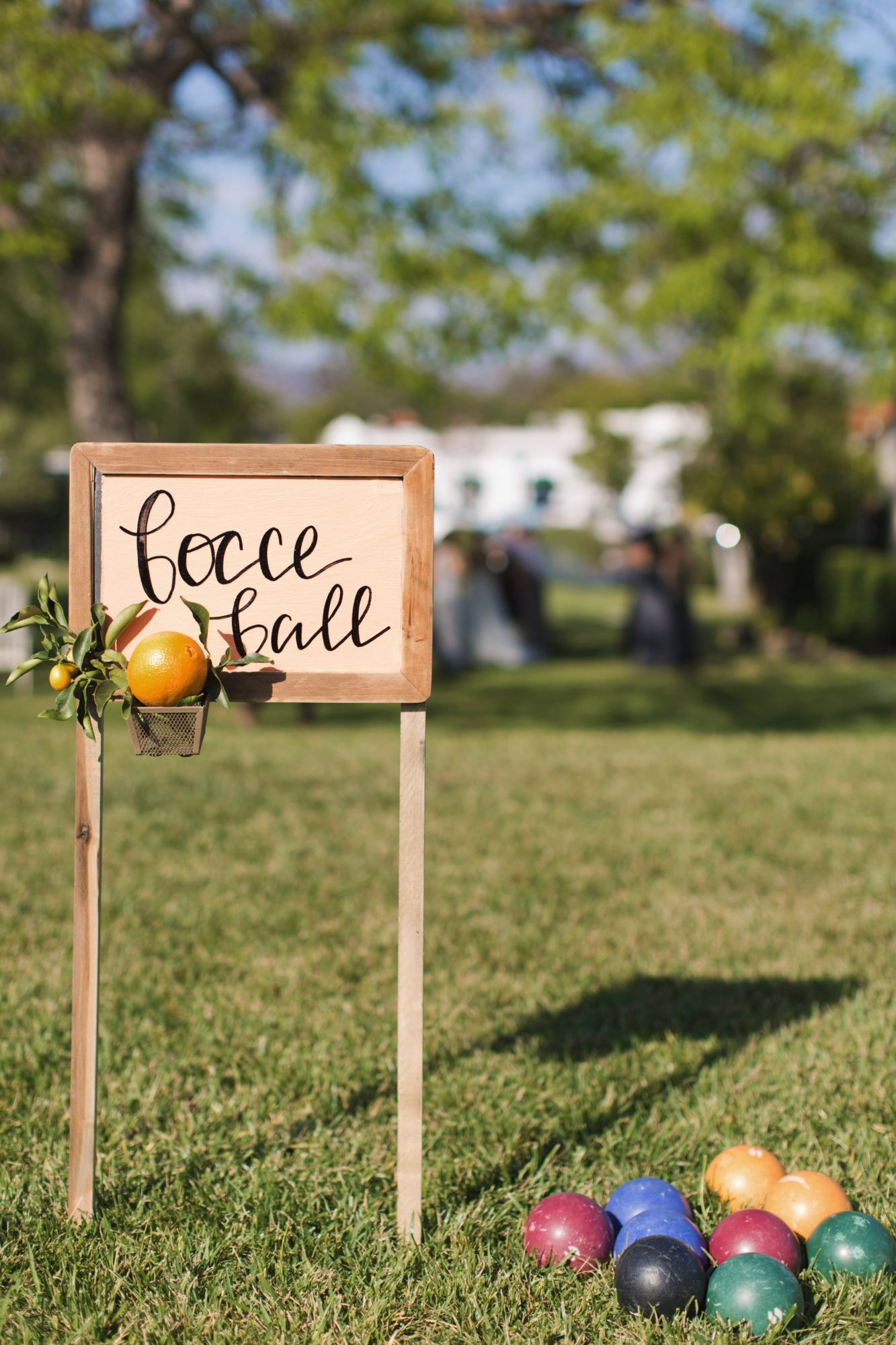 wedding bocce