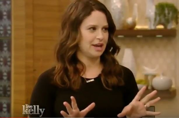"""Katie Lowes on """"Live! with Kelly"""""""