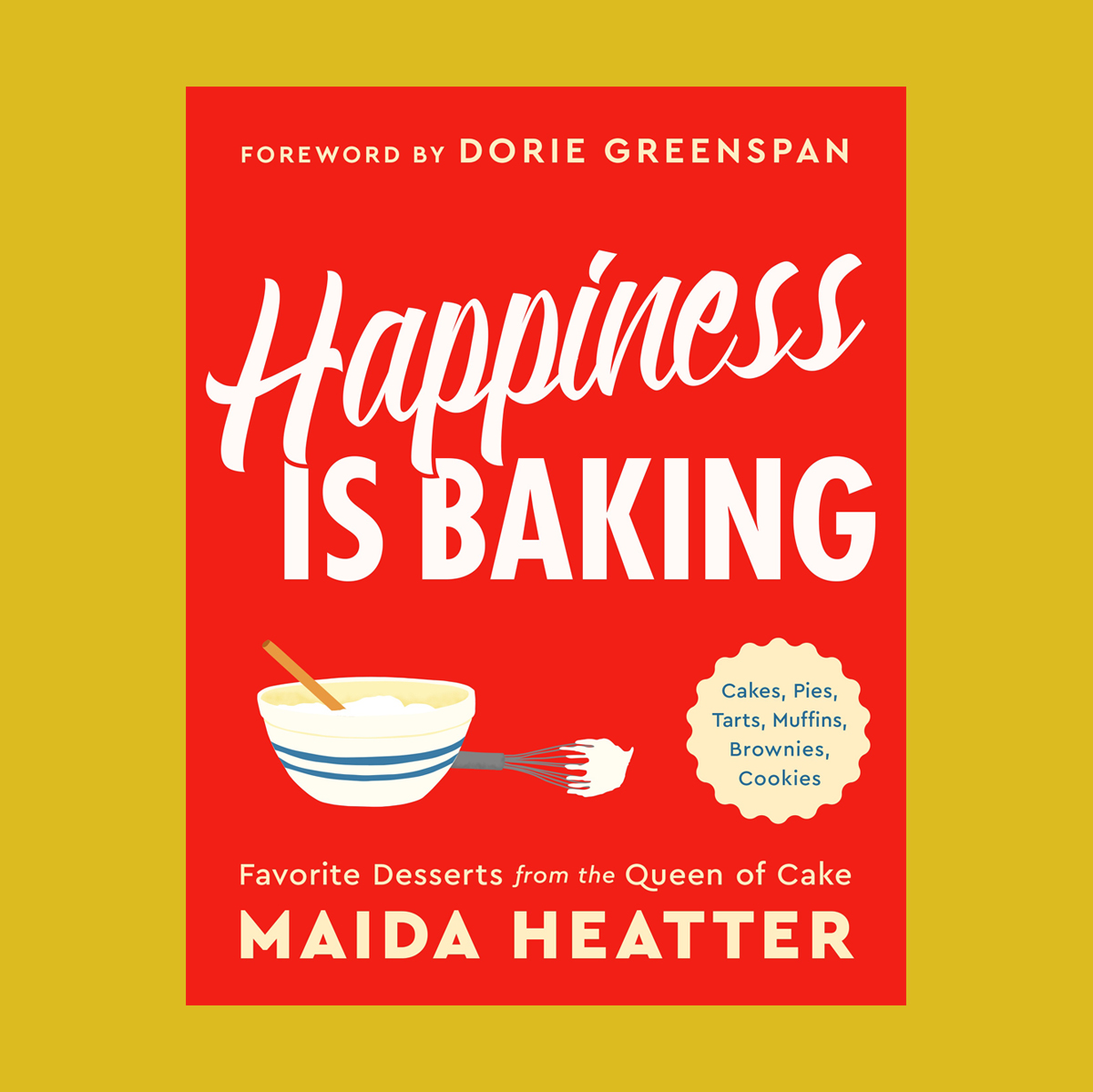 red happiness is baking book cover