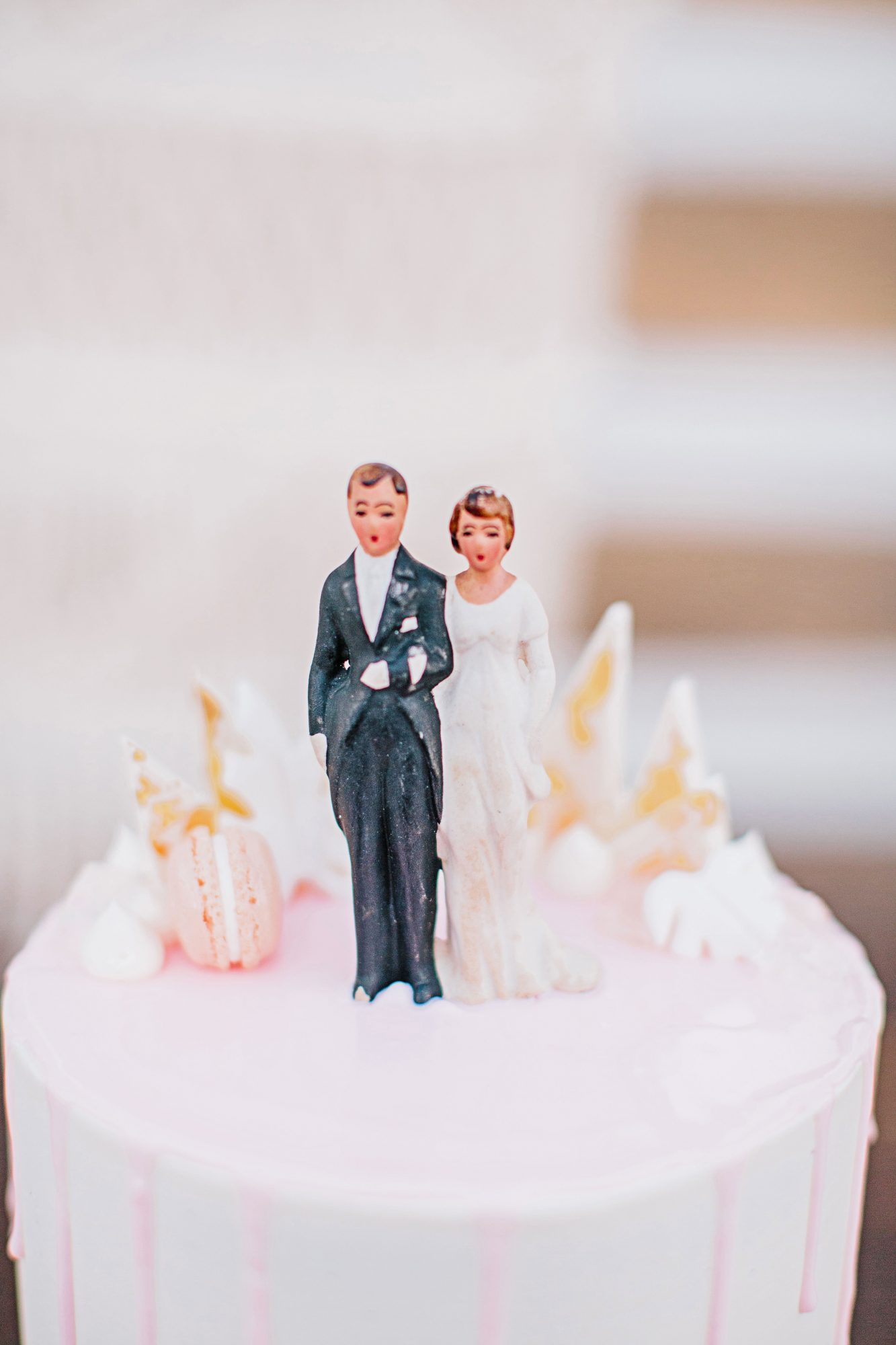 stephanie jared wedding cake topper
