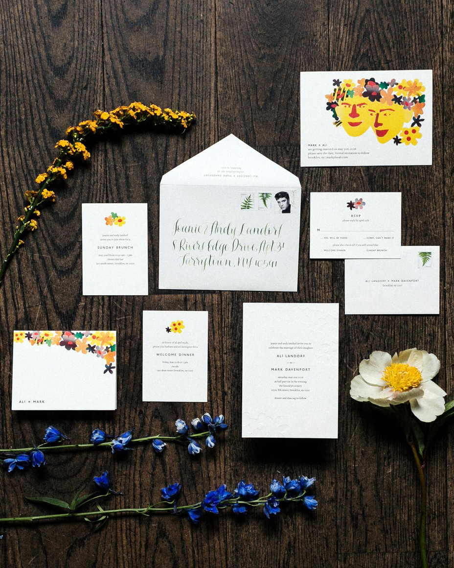 alissa mark wedding stationery