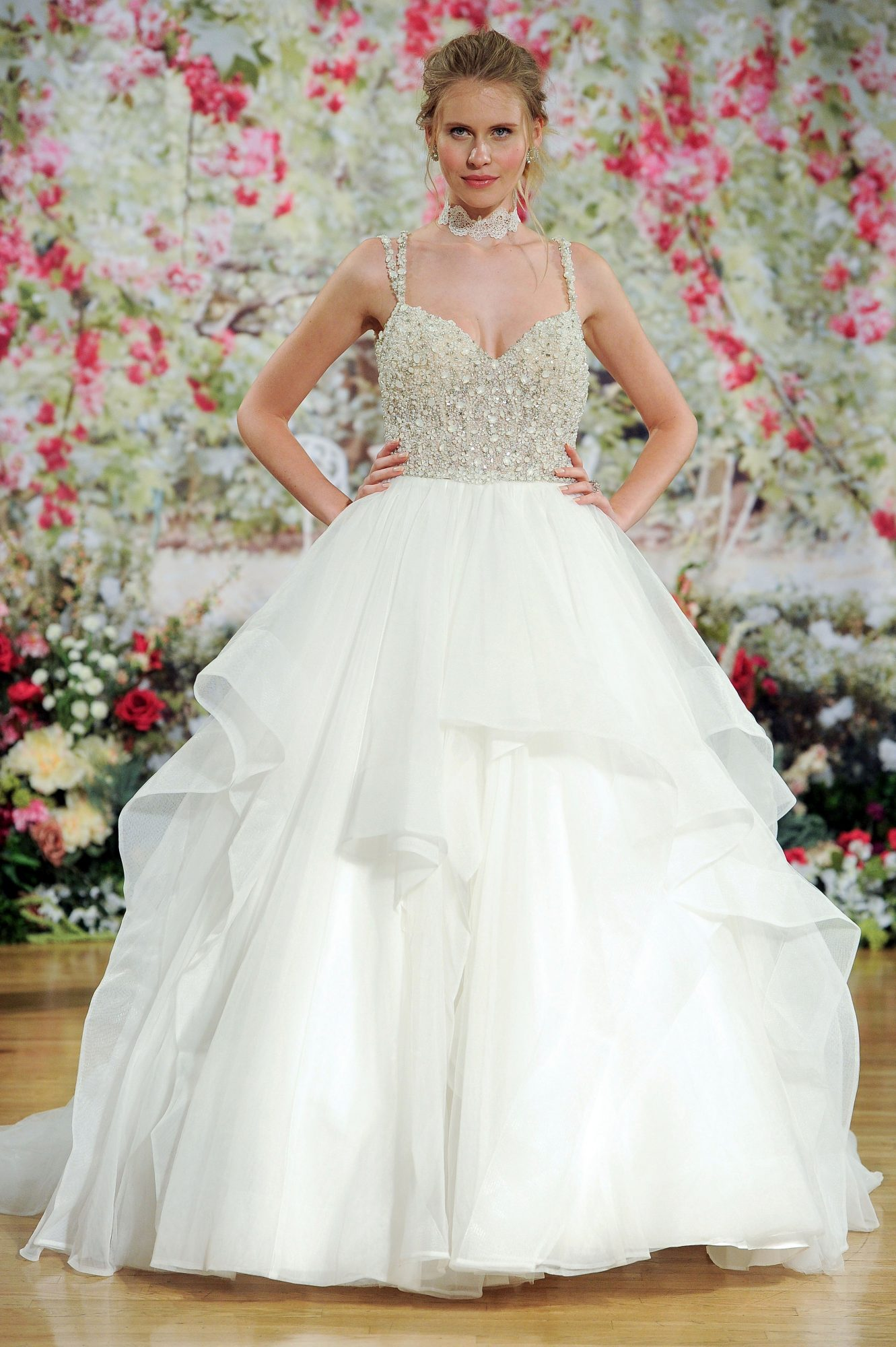 Sottero and Midgley Fall 2017 Wedding Dress with Crystal Top