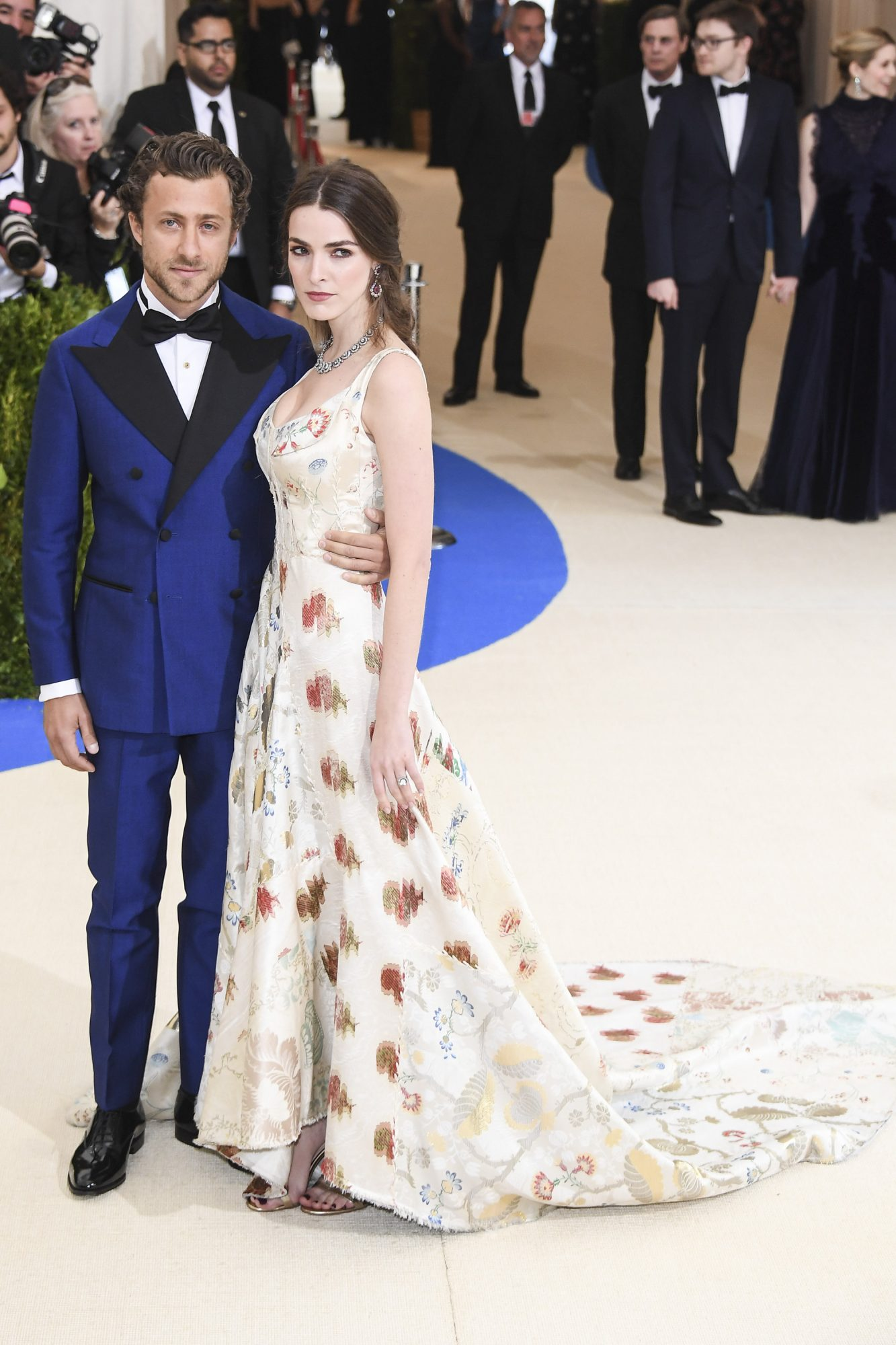 Bee Shaffer and Francesco Carrozzini Met Gala 2017