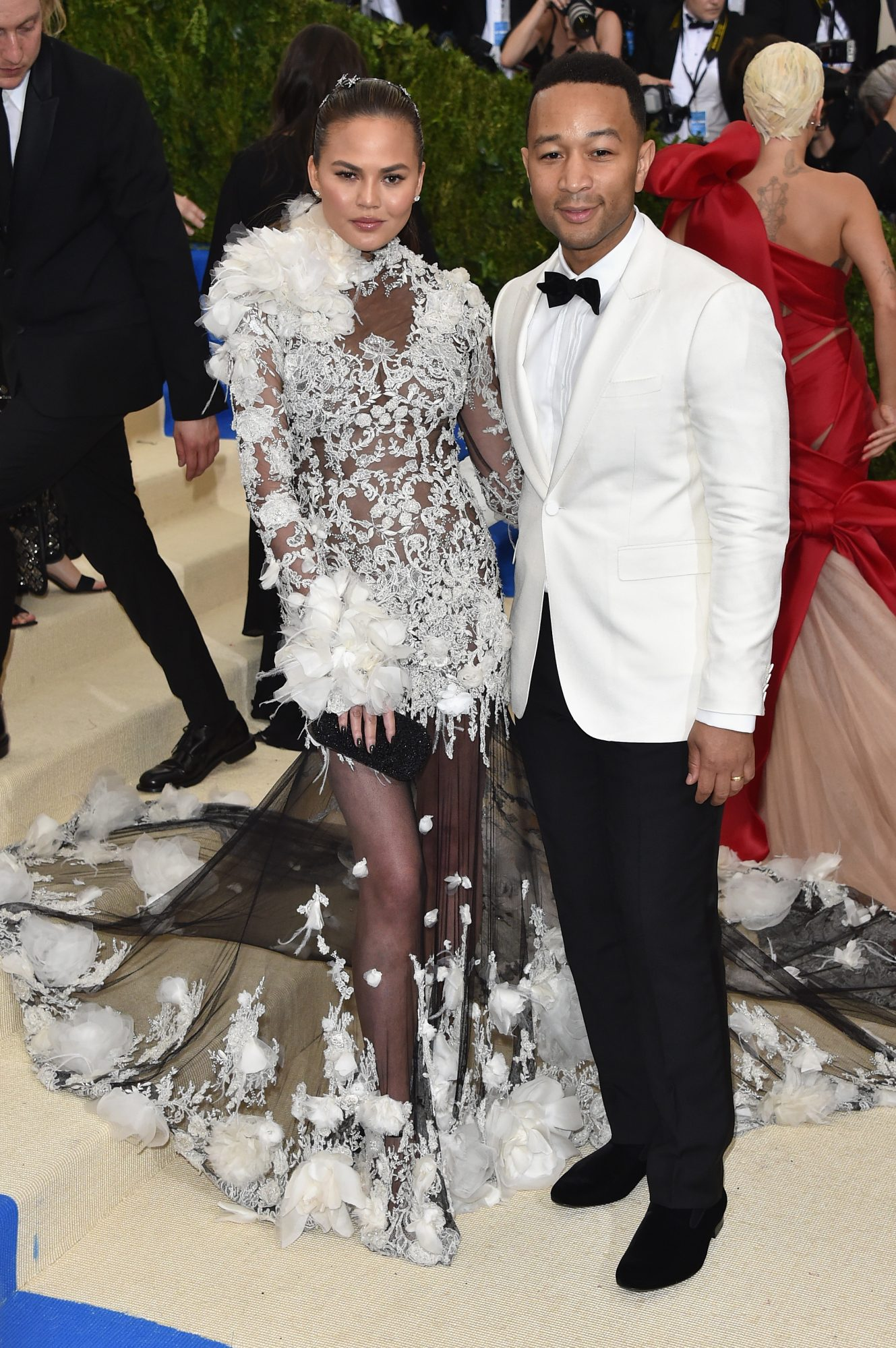 Chrissy Teigan and John Legend Met Gala 2017