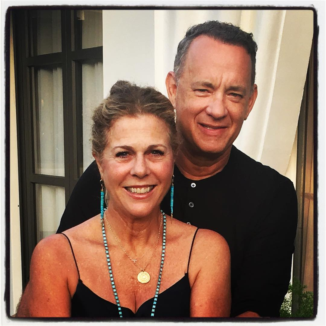 Tom Hanks and Rita Wilson Anniversary Photo