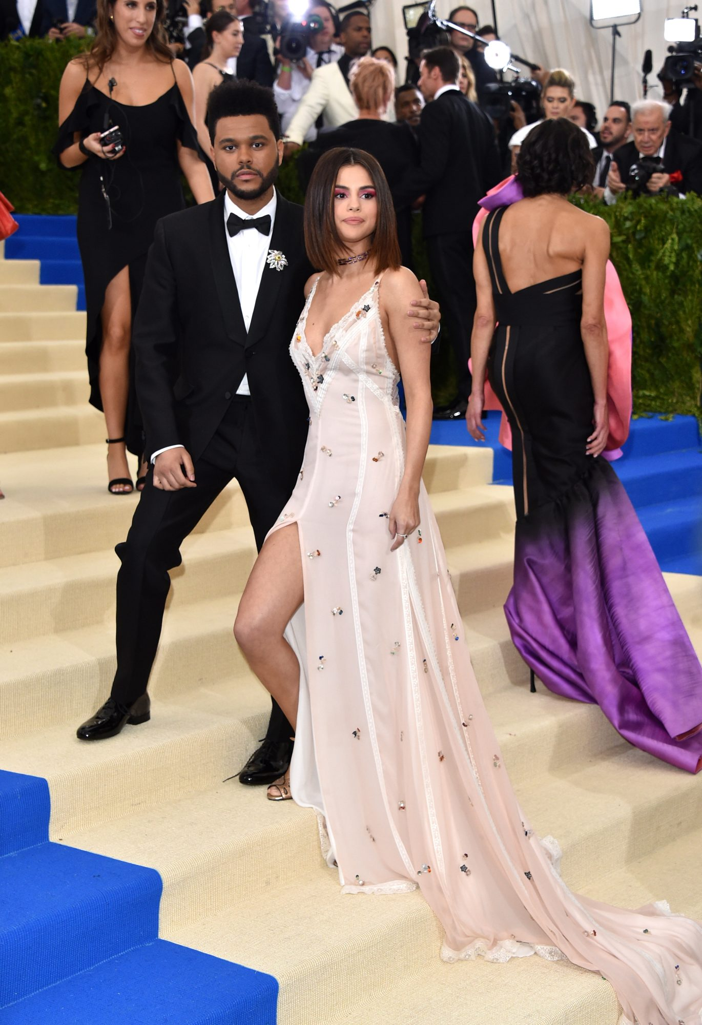 Selena Gomez and The Weeknd Met Gala 2017