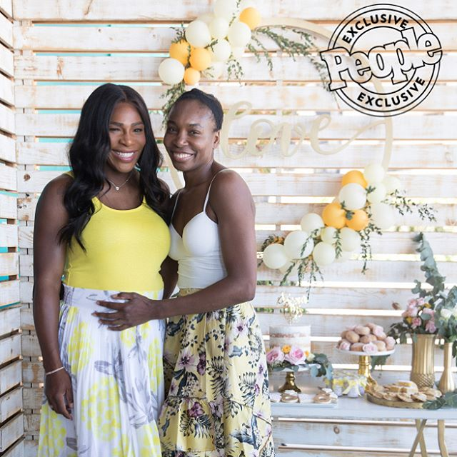 Serena Williams at her Miami bridal shower