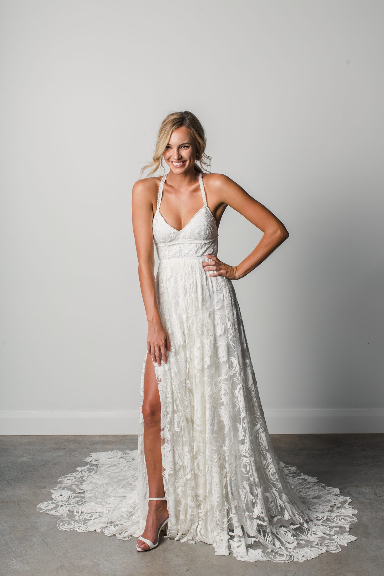 grace loves lace straps spring 2018 wedding dress