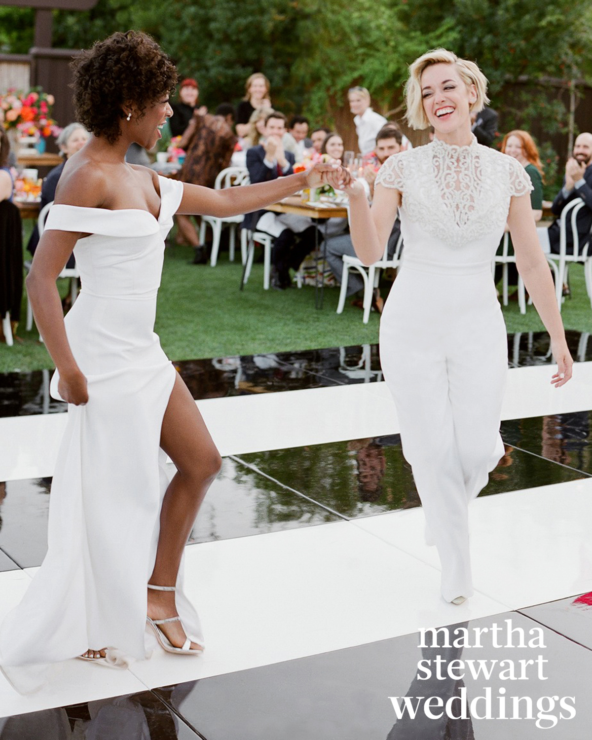 samira wiley lauren morelli wedding dancing