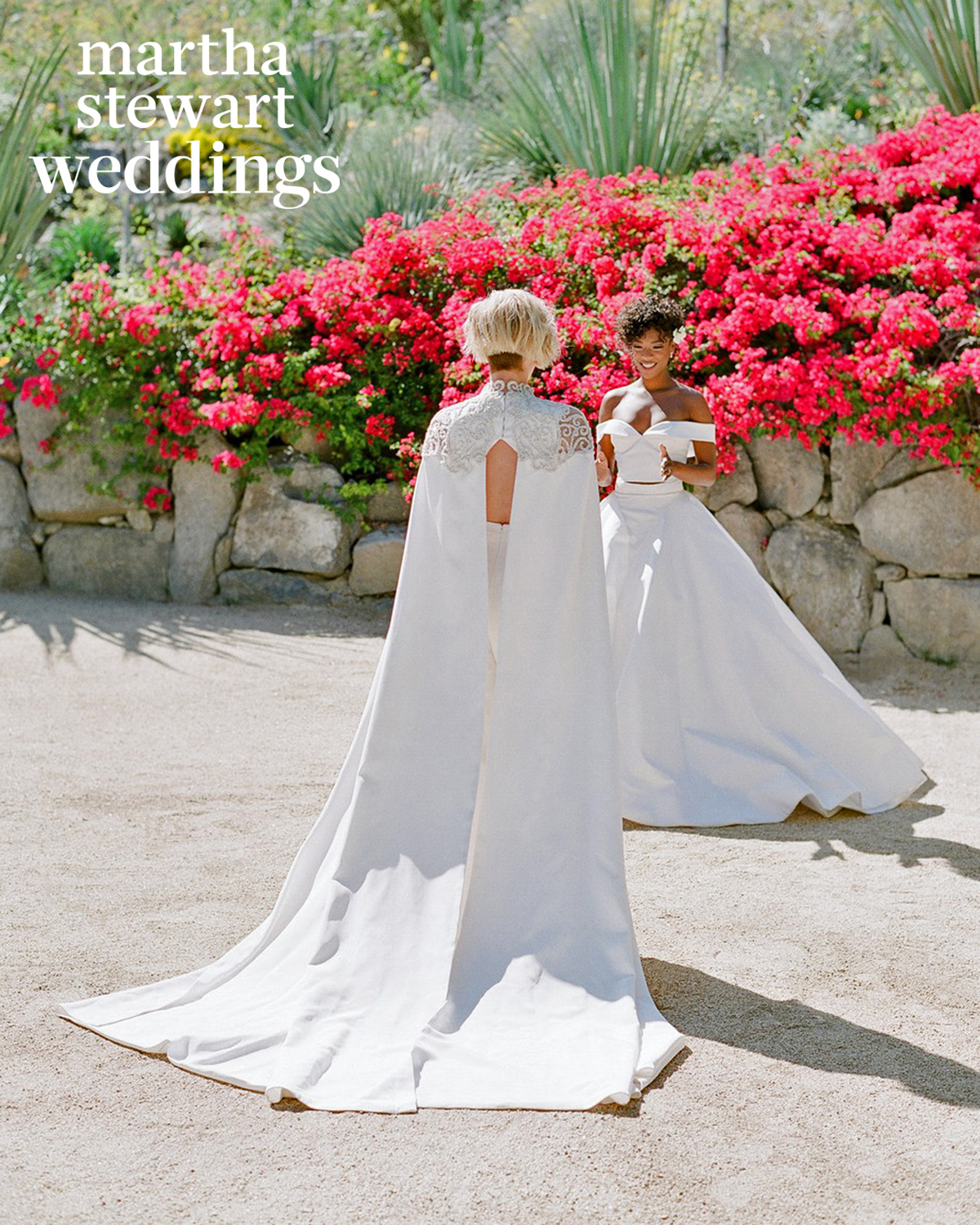 samira wiley lauren morelli wedding first look