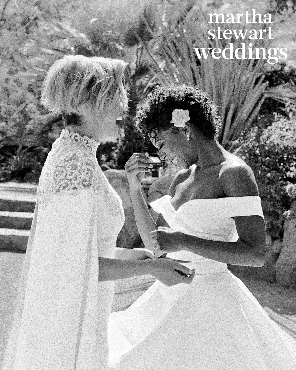 samira wiley lauren morelli wedding first look laugh