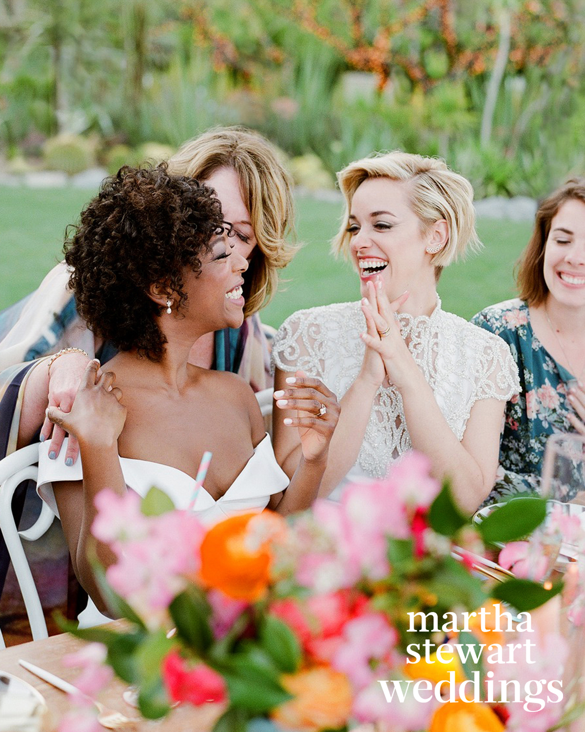 samira wiley lauren morelli wedding mom