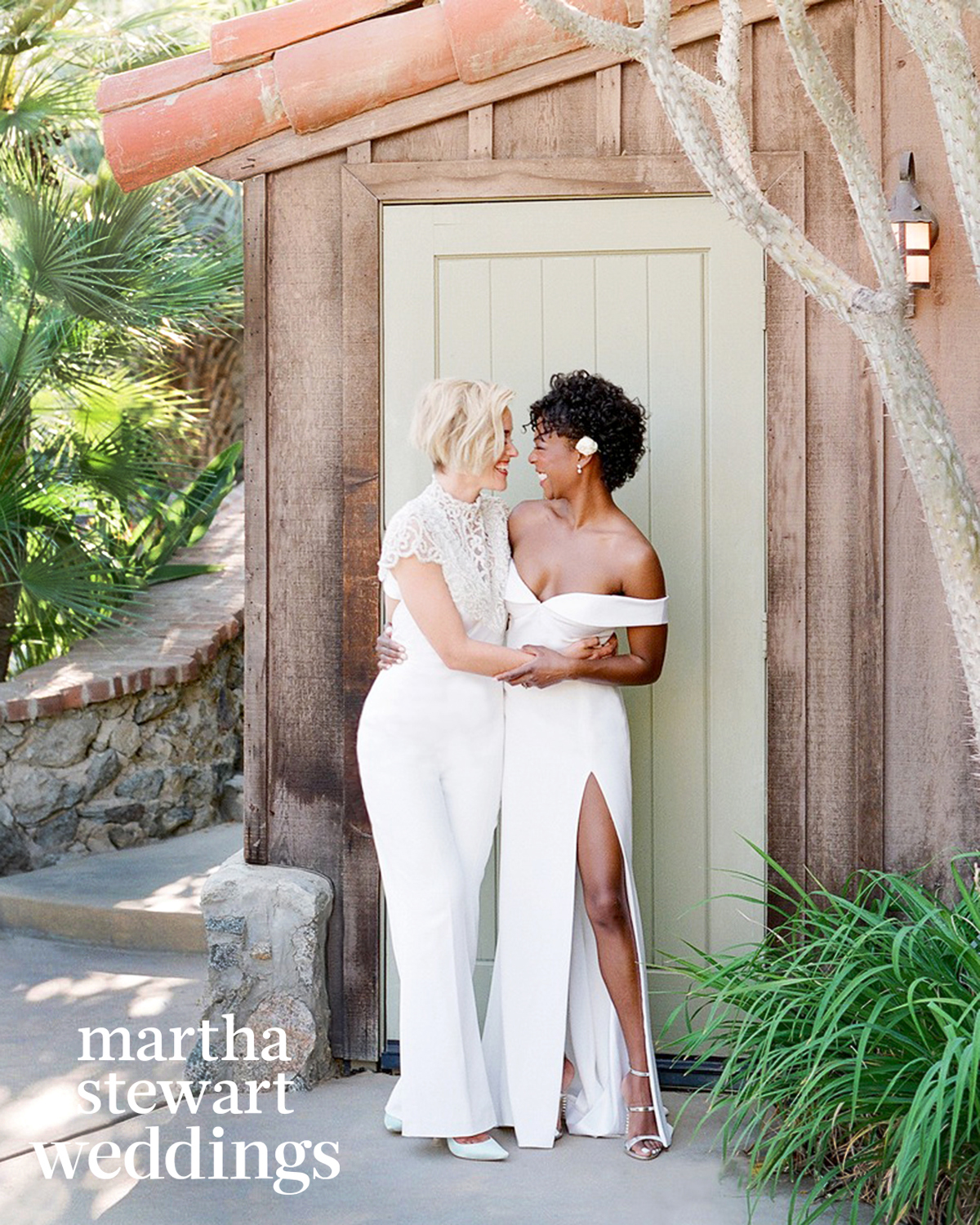 samira wiley lauren morelli wedding second look