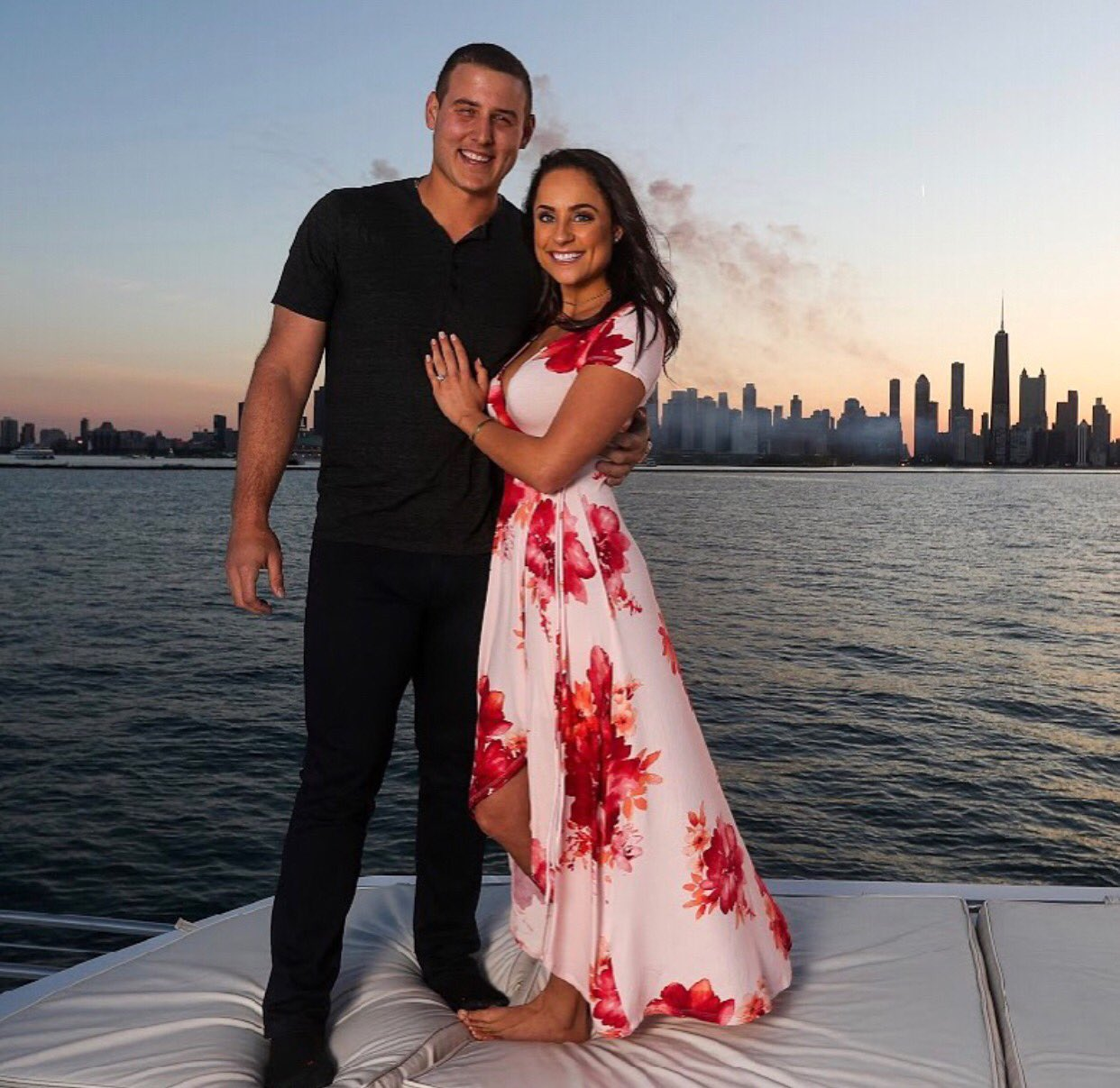 Chicago Cubs First Baseman Anthony Rizzo and Emily Vakos Engaged