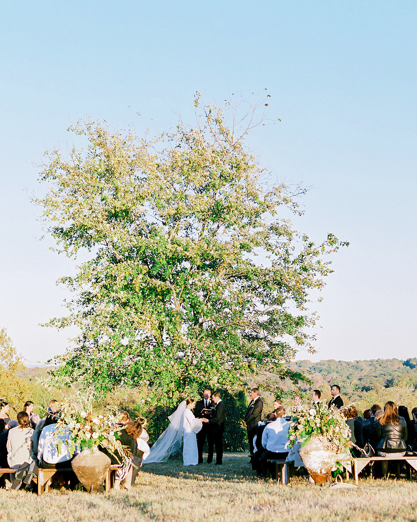 An Outdoor Ceremony