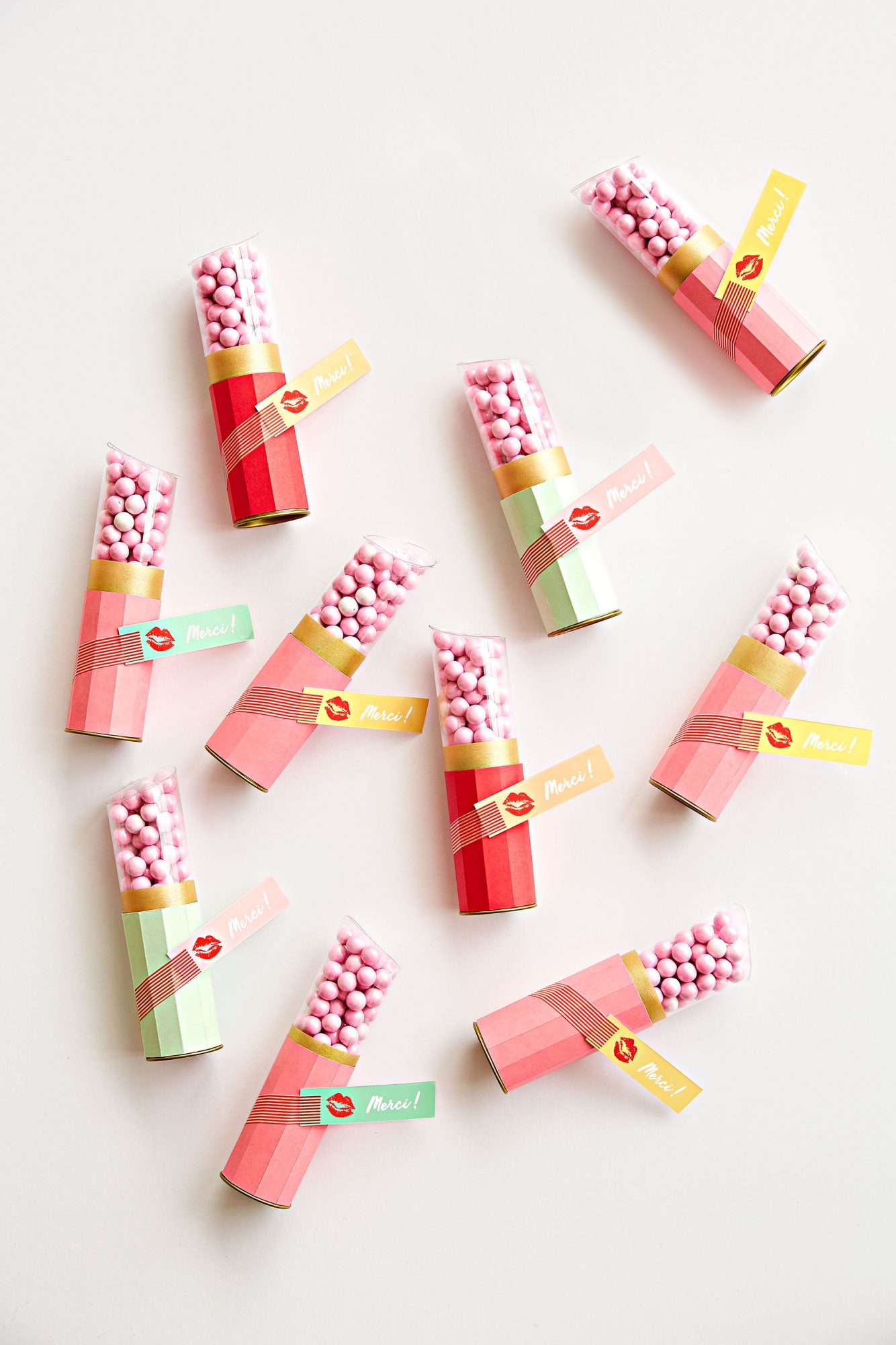 Oh Happy Day French-Inspired Bridal Shower Candy Favors