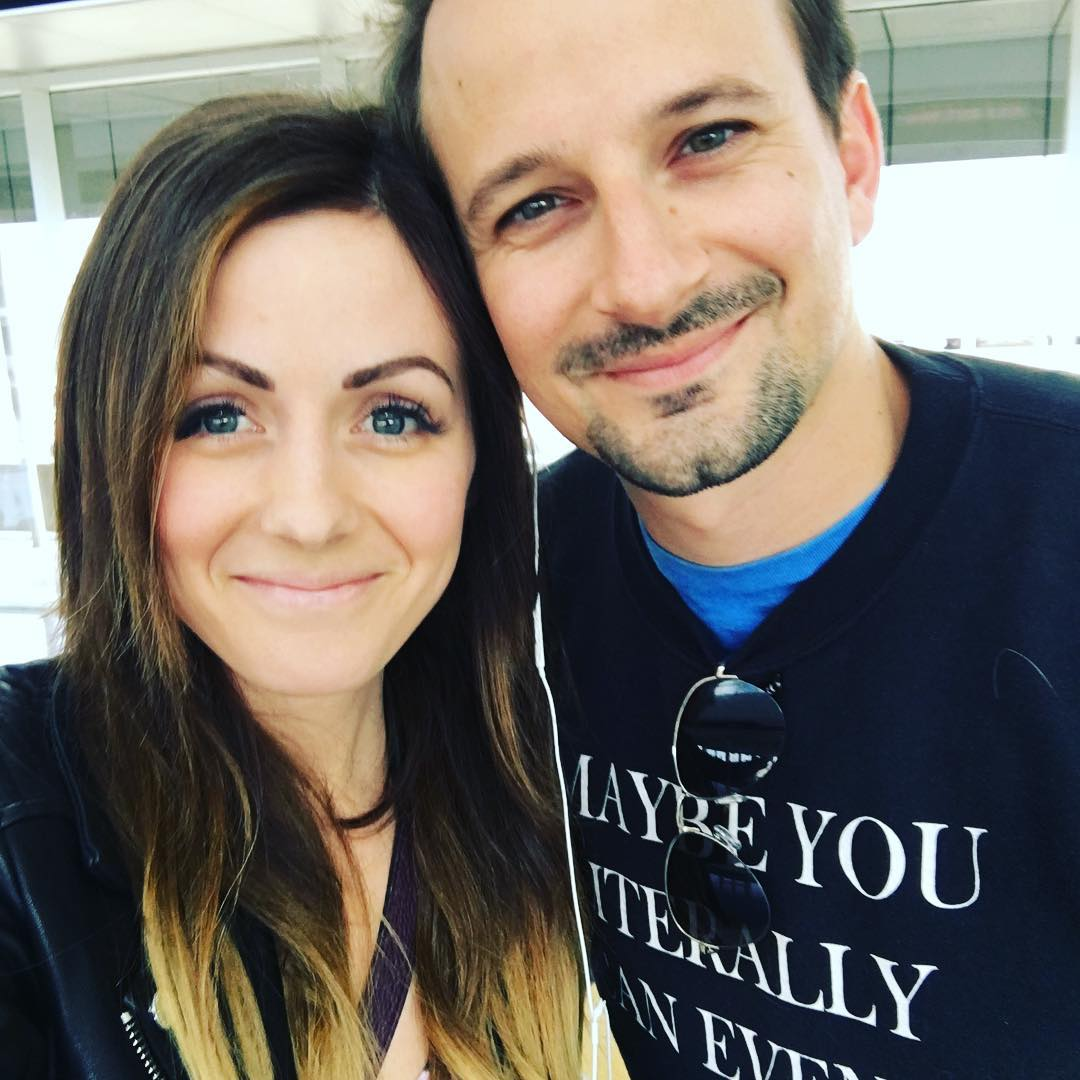 Carly Waddell and Evan Bass Instagram selfie