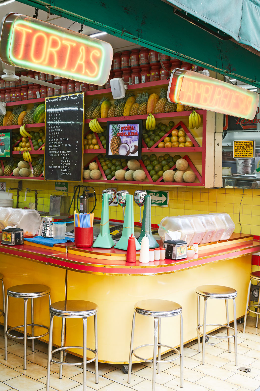 food stand mexico