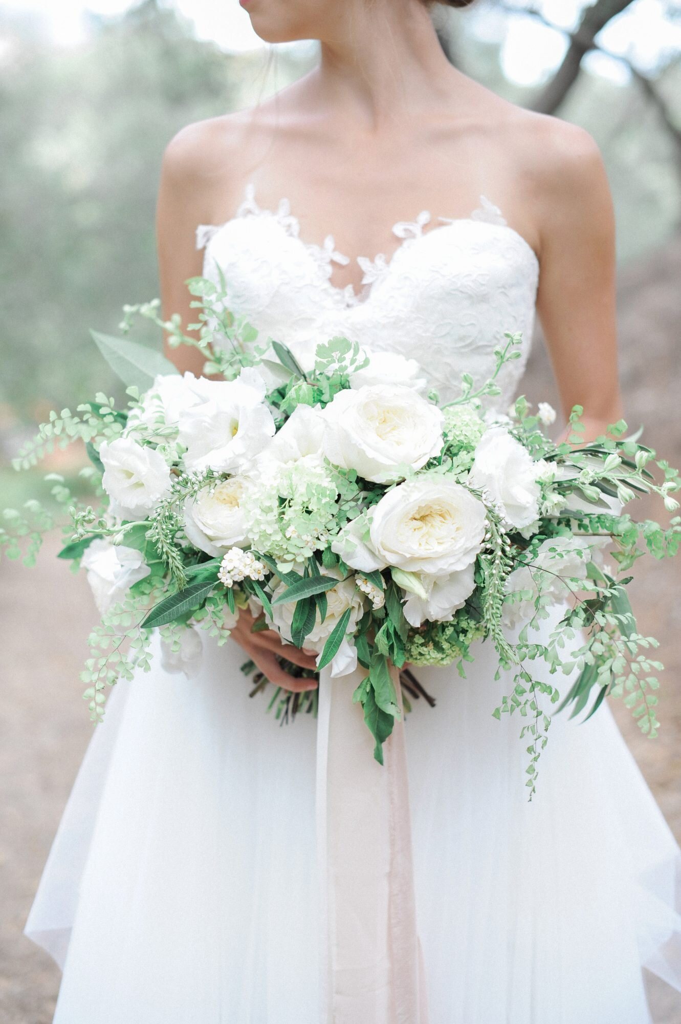 9 Stunning Wedding Bouquets with Ferns  Martha Stewart