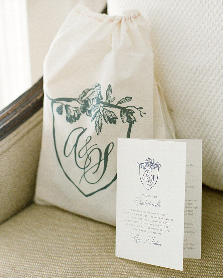 anne and staton wedding welcome bag