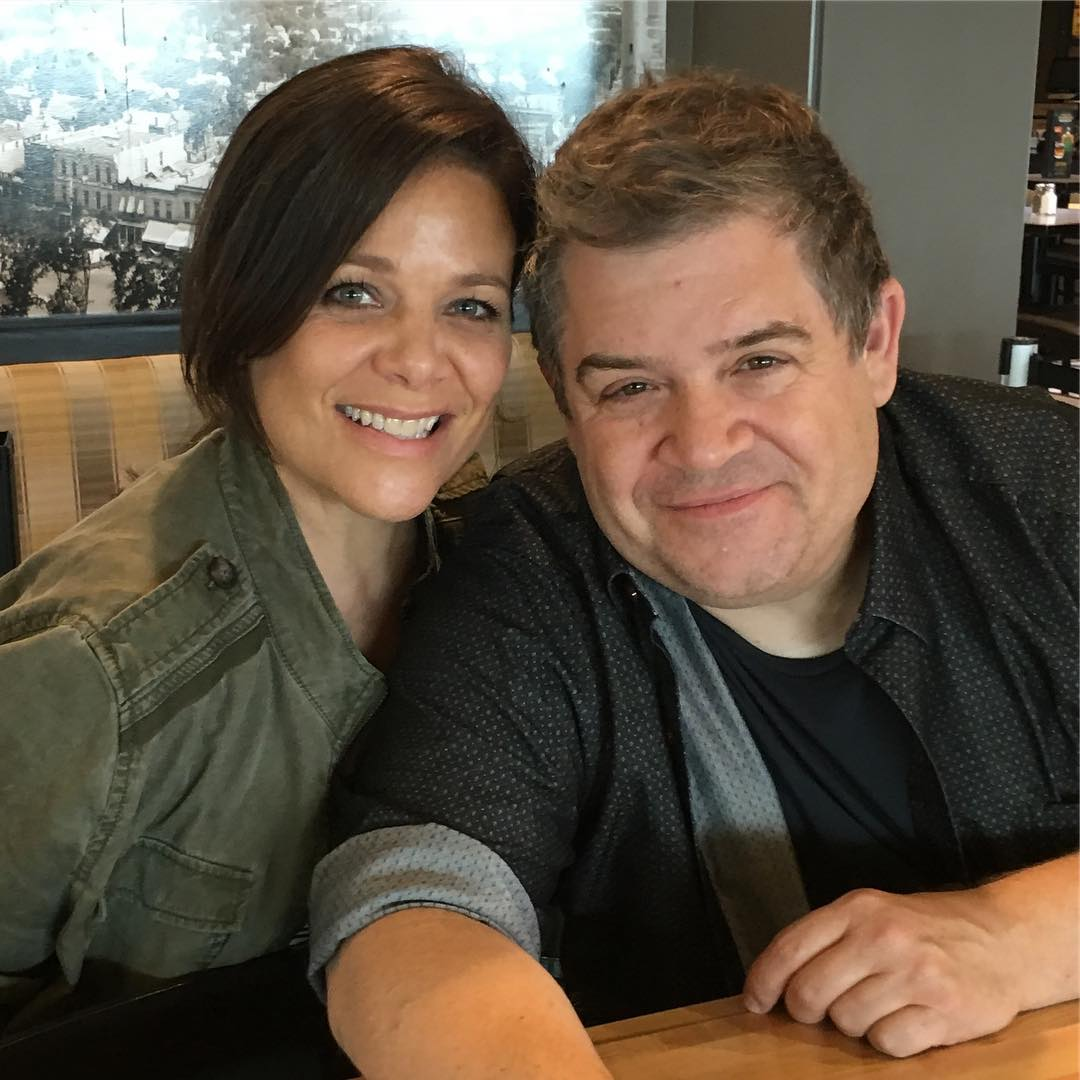 Patton Oswalt and Meredith Salenger Are Engaged