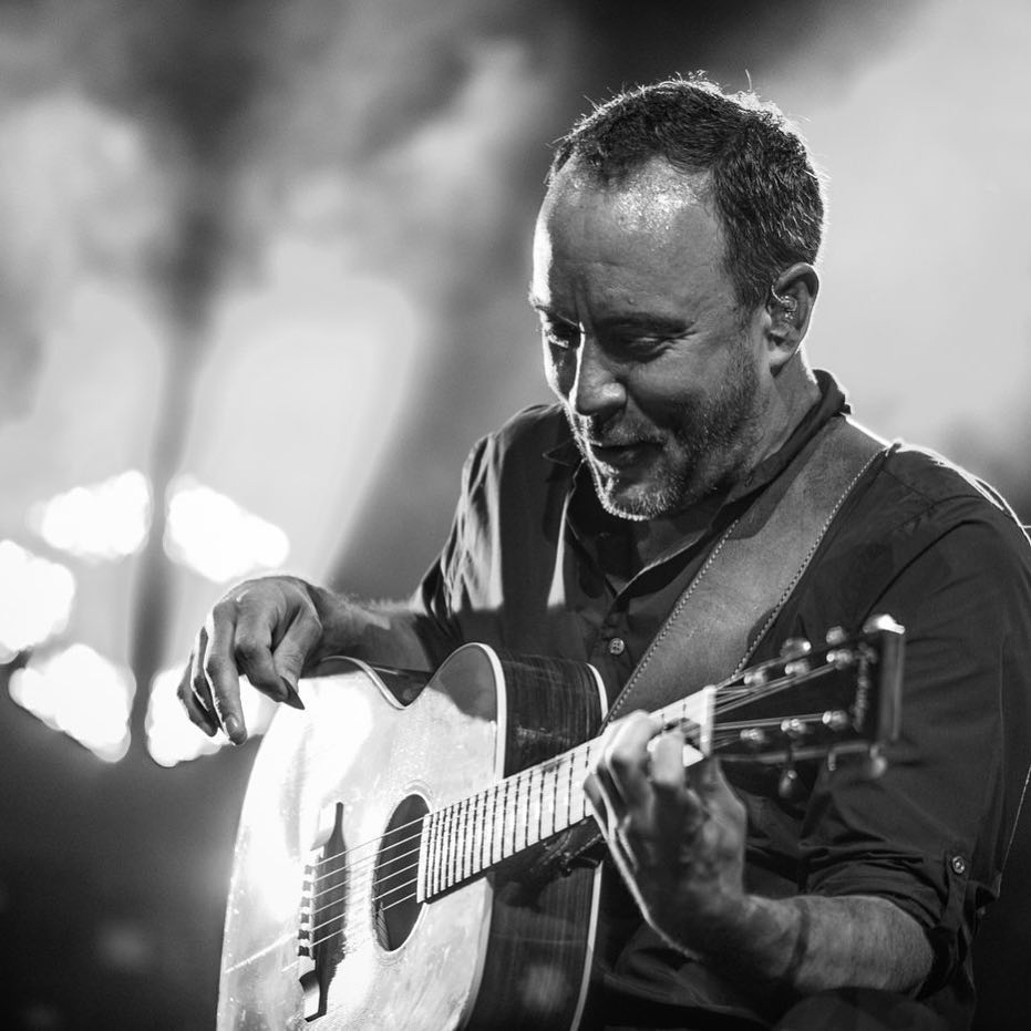 Dave Matthews acoustic performance