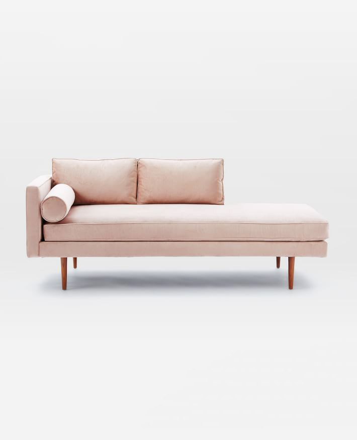 pink registry couch