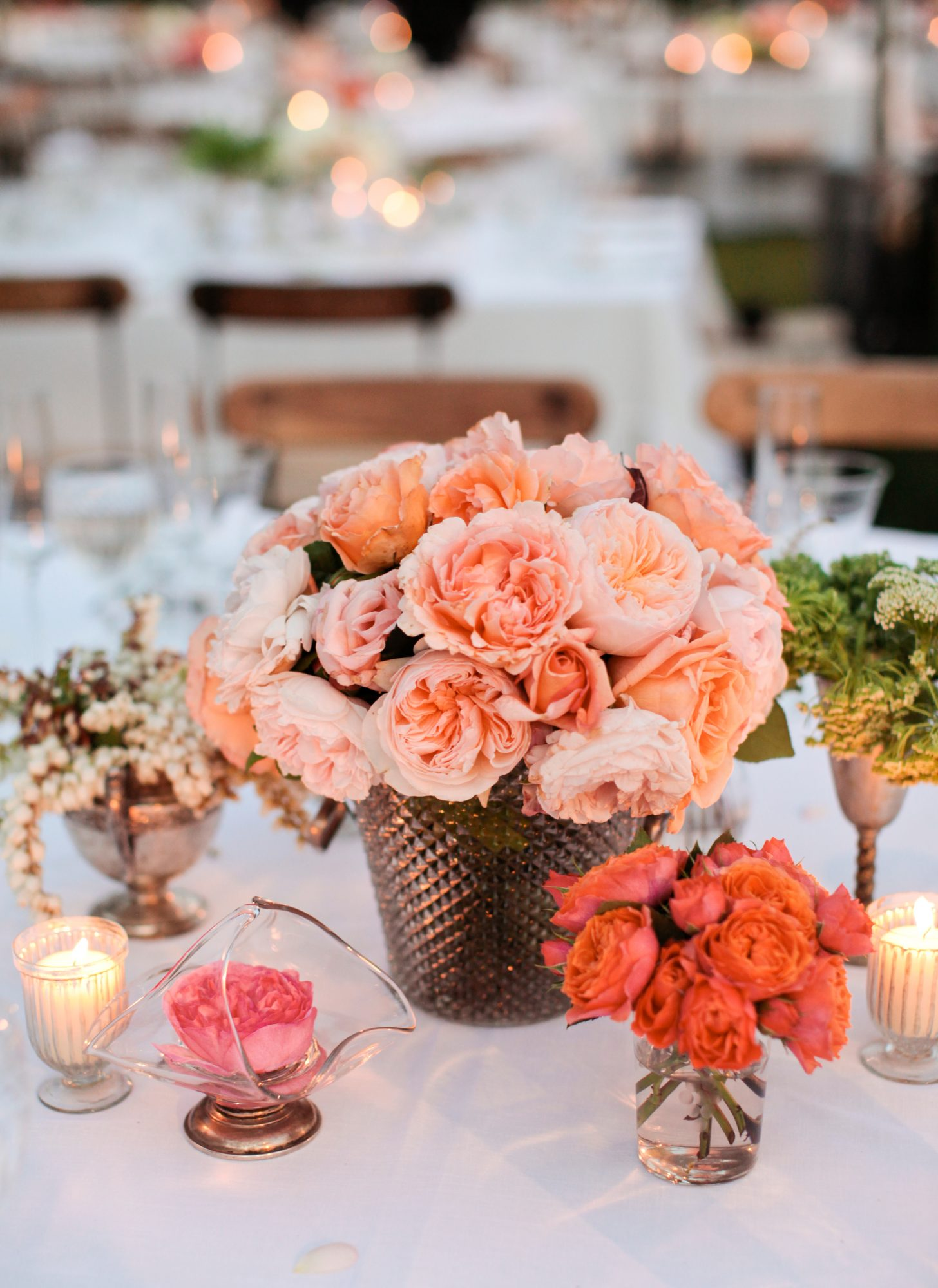 Romantic Cluster Centerpieces