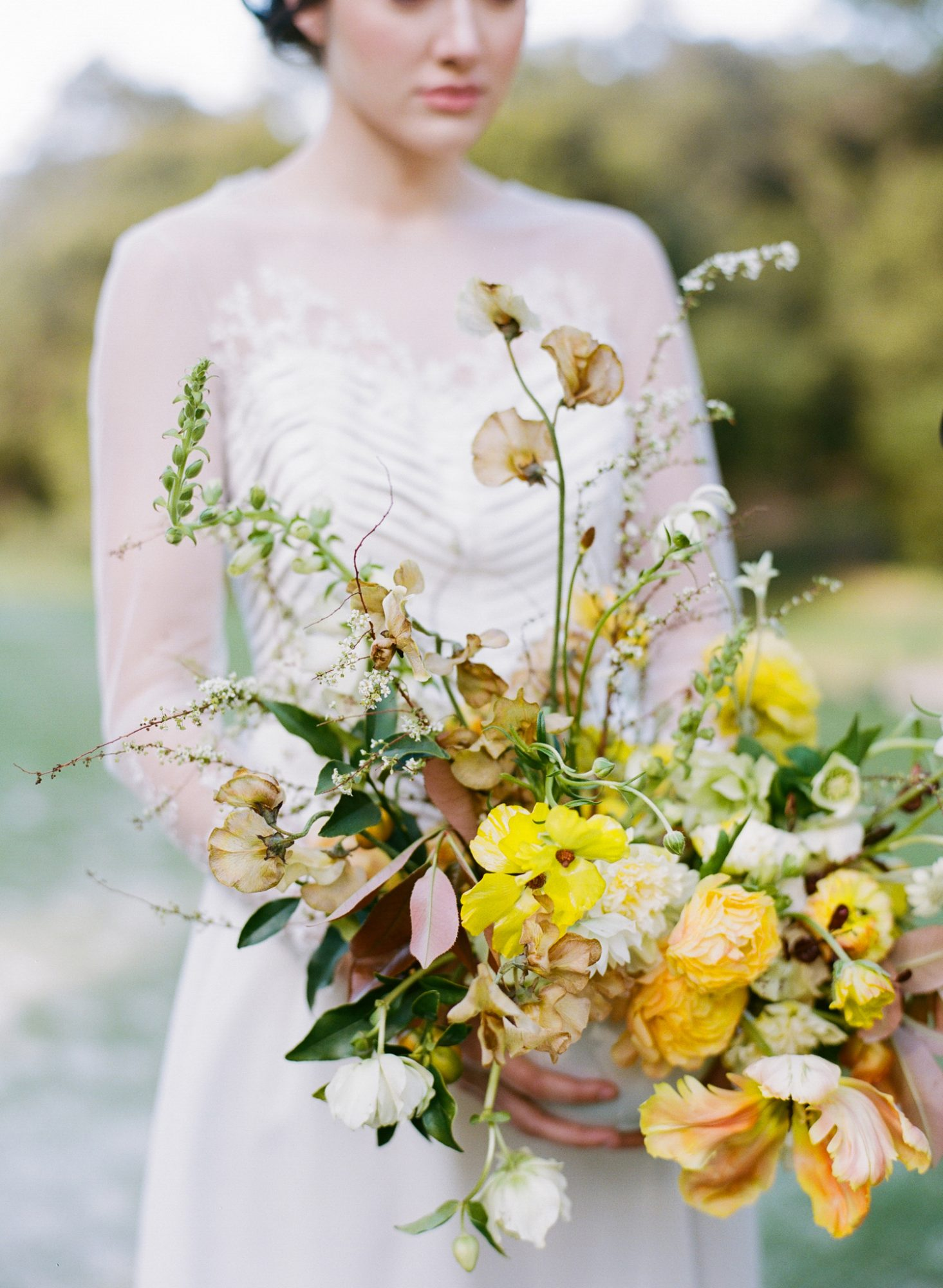 fall wedding color palette taken by sarah photography