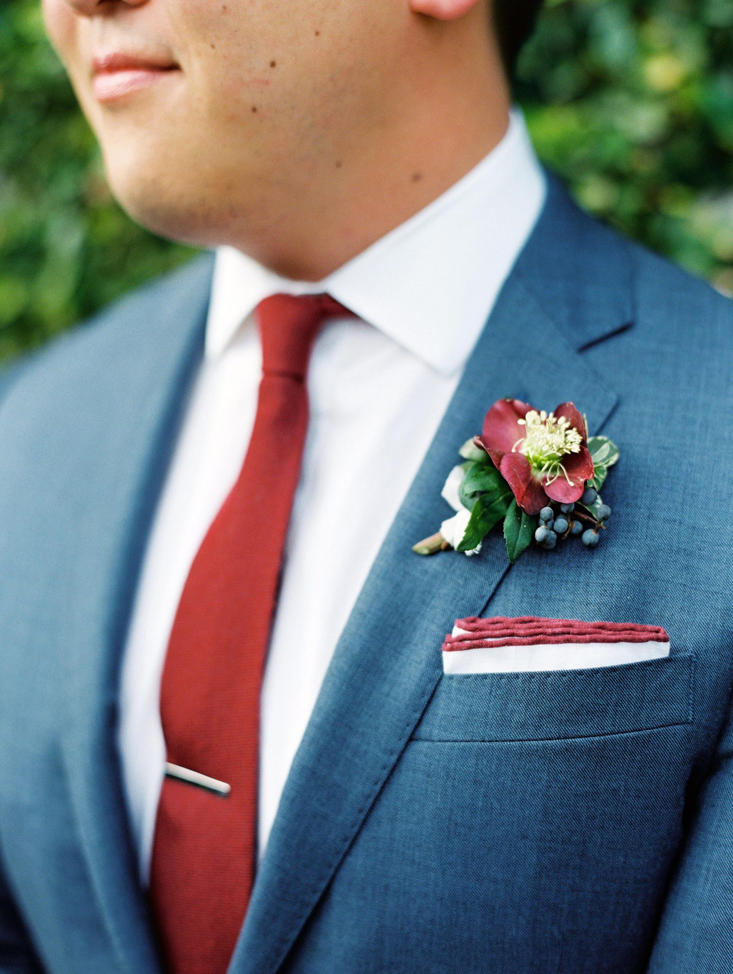 His Boutonniere