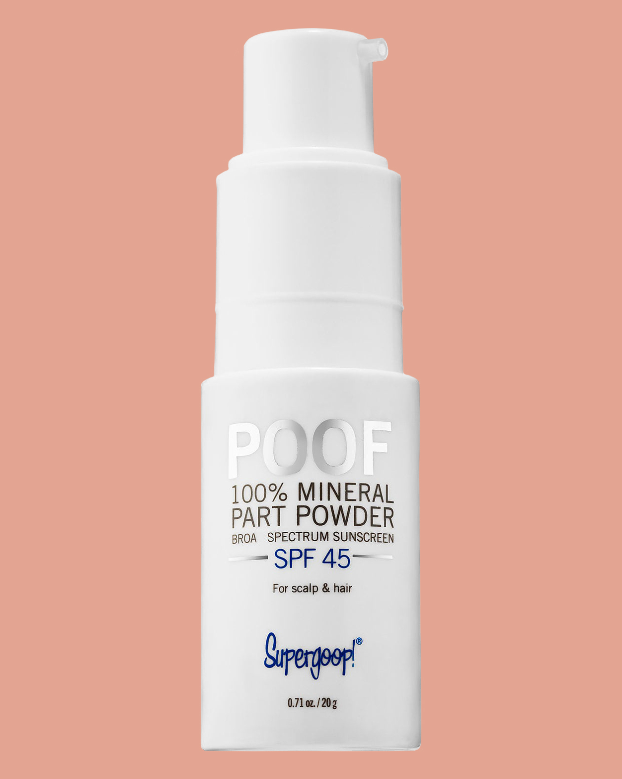 Mineral Part and Scalp Powder SPF 45
