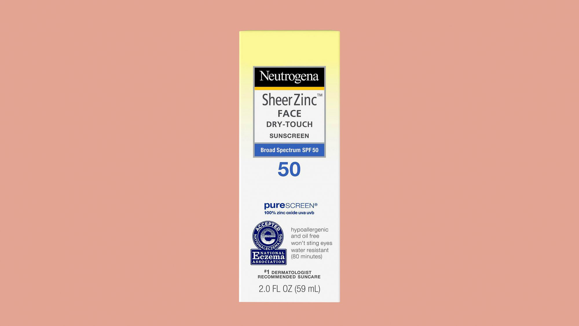 "Neutrogena ""SheerZinc"" Facial Sunscreen"