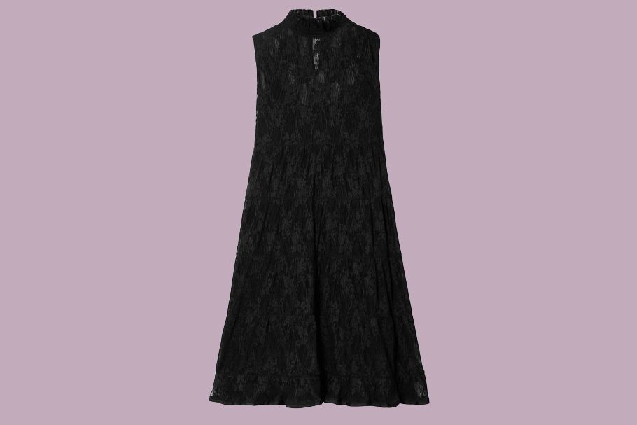 See by Chloe Tiered Lace Mini Dress