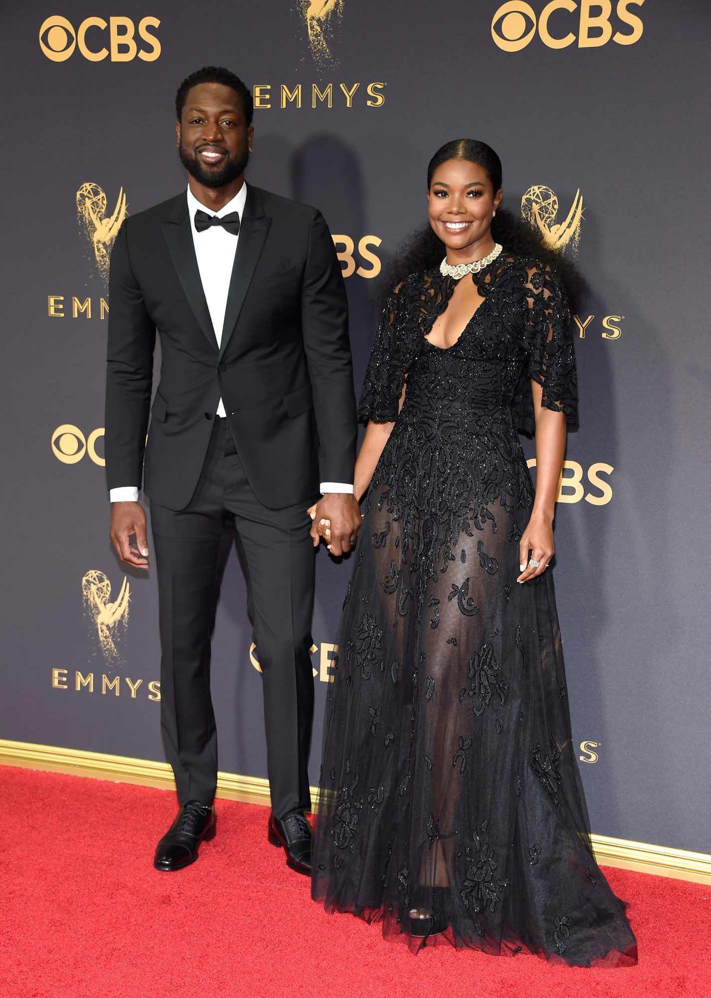 Gabrielle Union and Dwayne Wade Emmys 2017