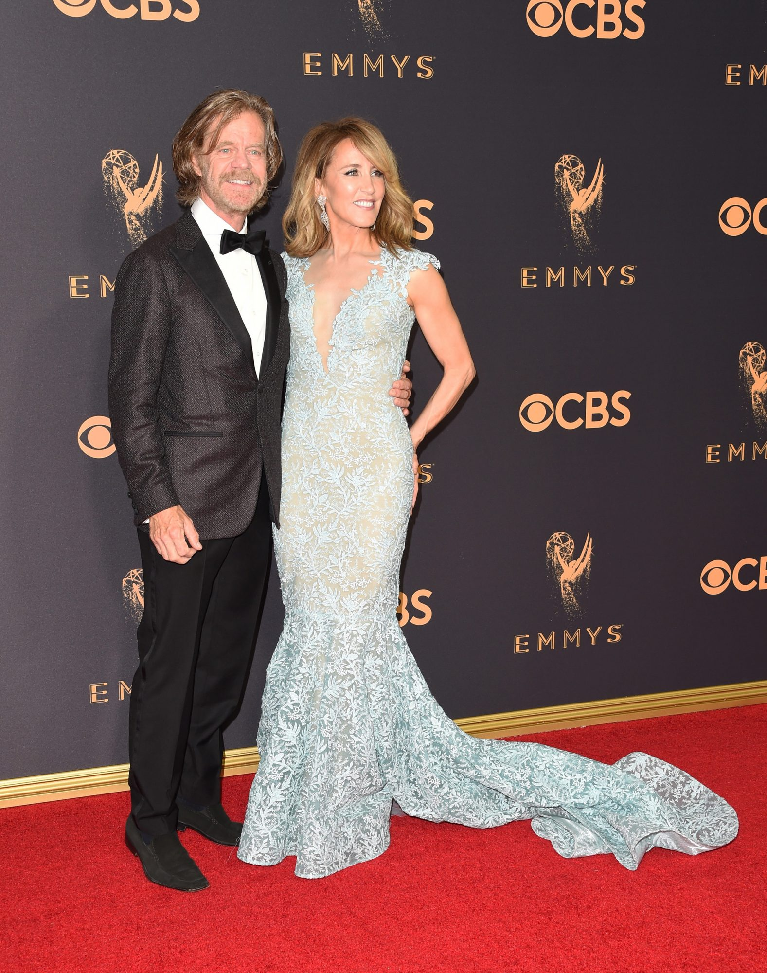 William H. Macy and Felicity Huffman Emmys 2017