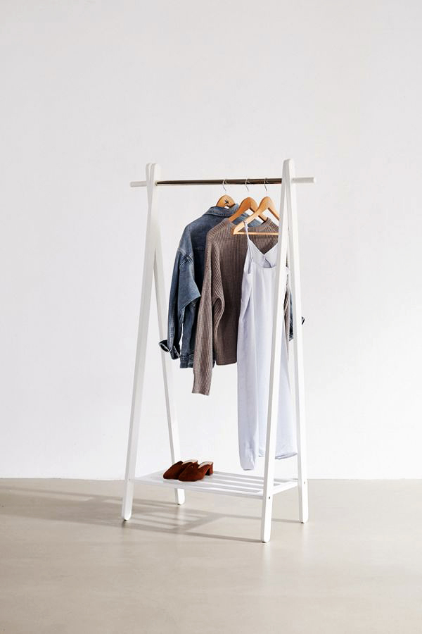 Urban Outfitters Wooden Clothing Rack