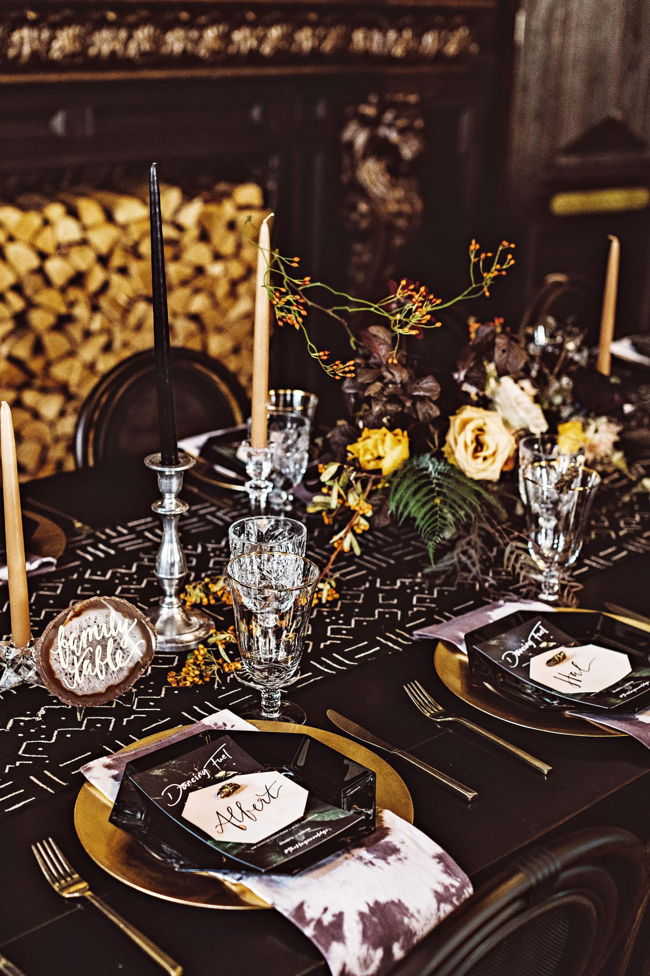lori john wedding california tablescape