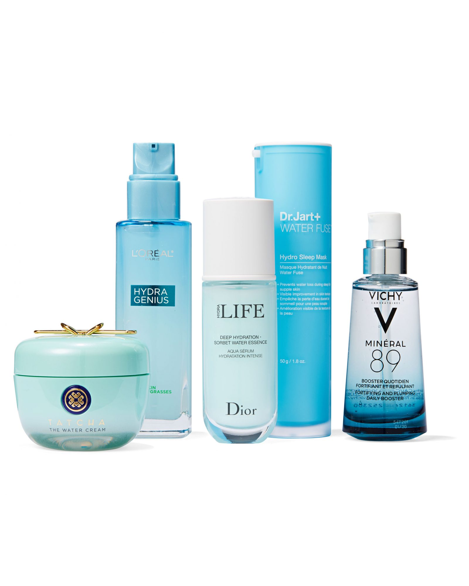 assorted hyaluronic acid products
