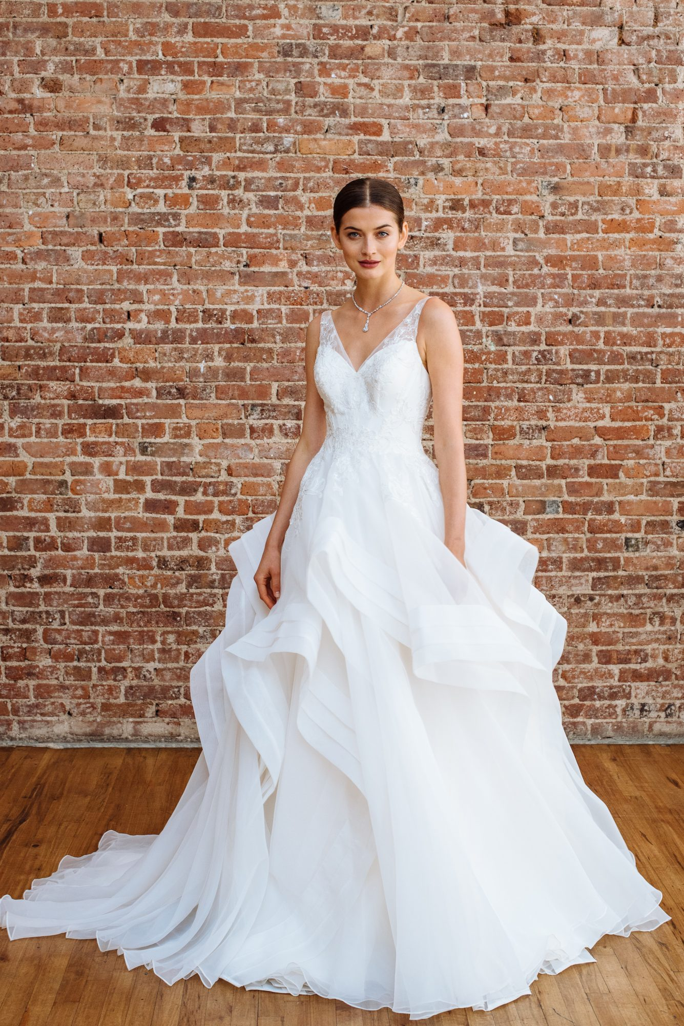 truly zac posen fall 2018 wedding dress