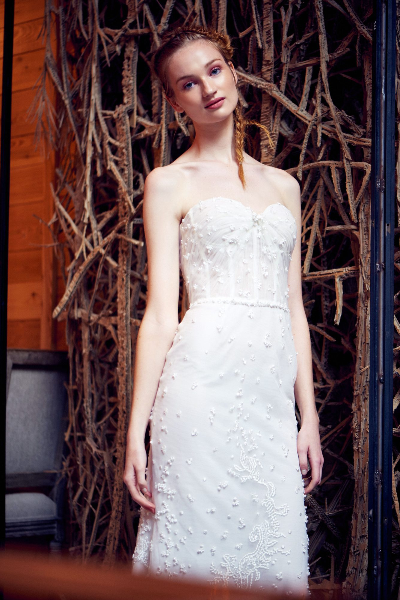 isabelle armstrong wedding dress fall 2018 strapless sweetheart beaded