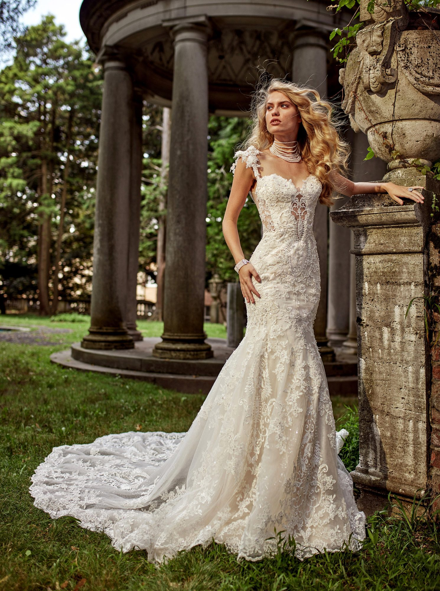 eve of milady dress fall 2018 sweetheart lace spaghetti strap trumpet