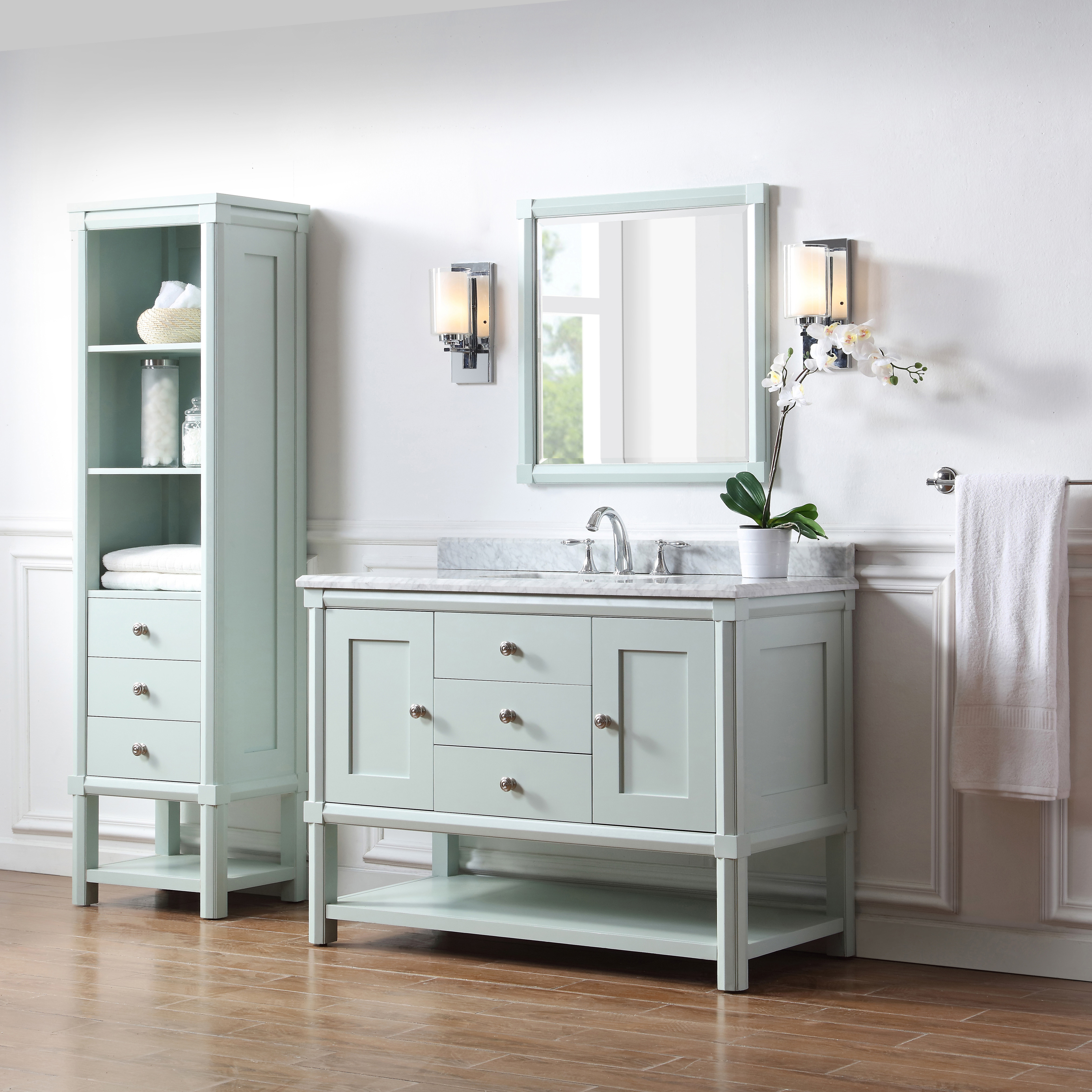These Bath Vanities Deliver On Storage