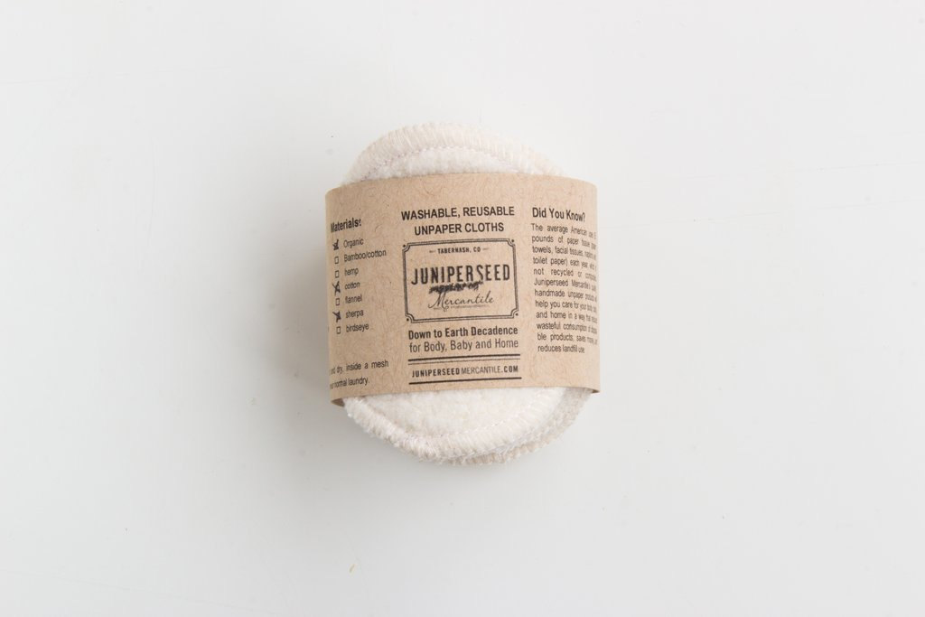 Swap In: Reusable Organic Cotton Rounds