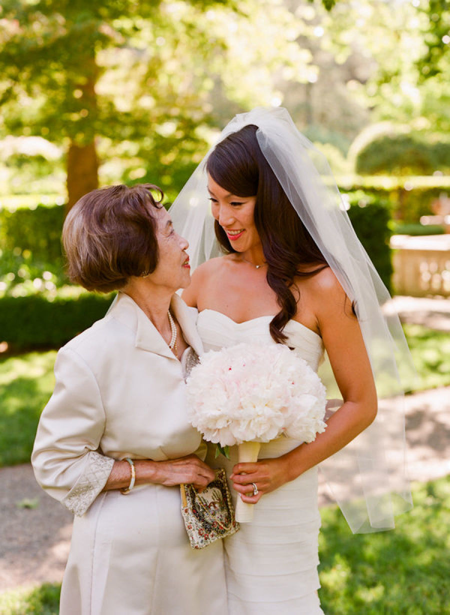 Mother of the Bride Cropped with Bangs Hairstyle