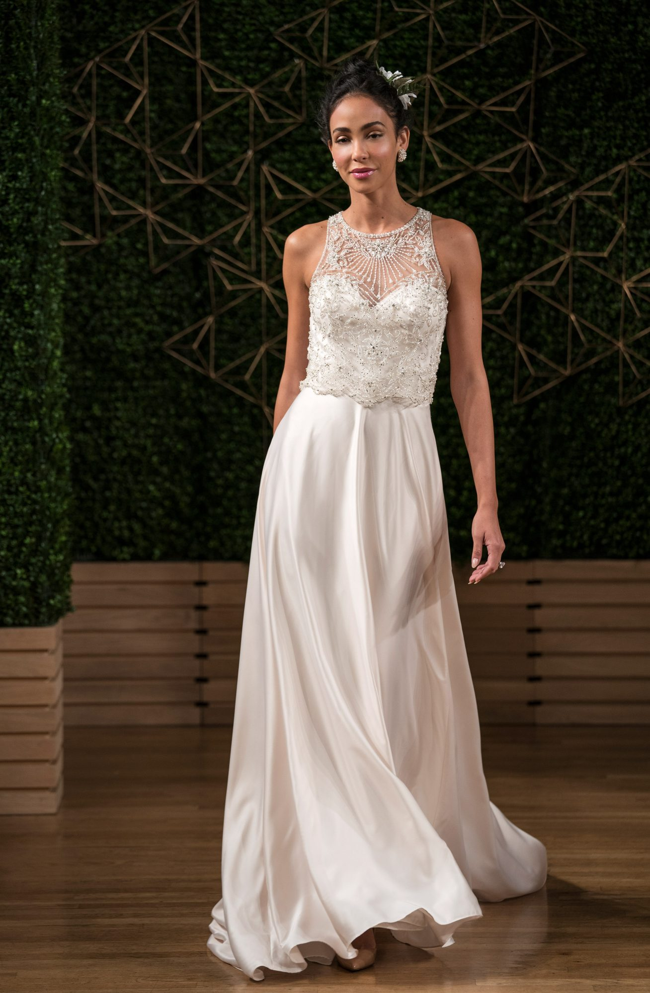 maggie sottero wedding dress fall 2018 a-line embellished sleeveless