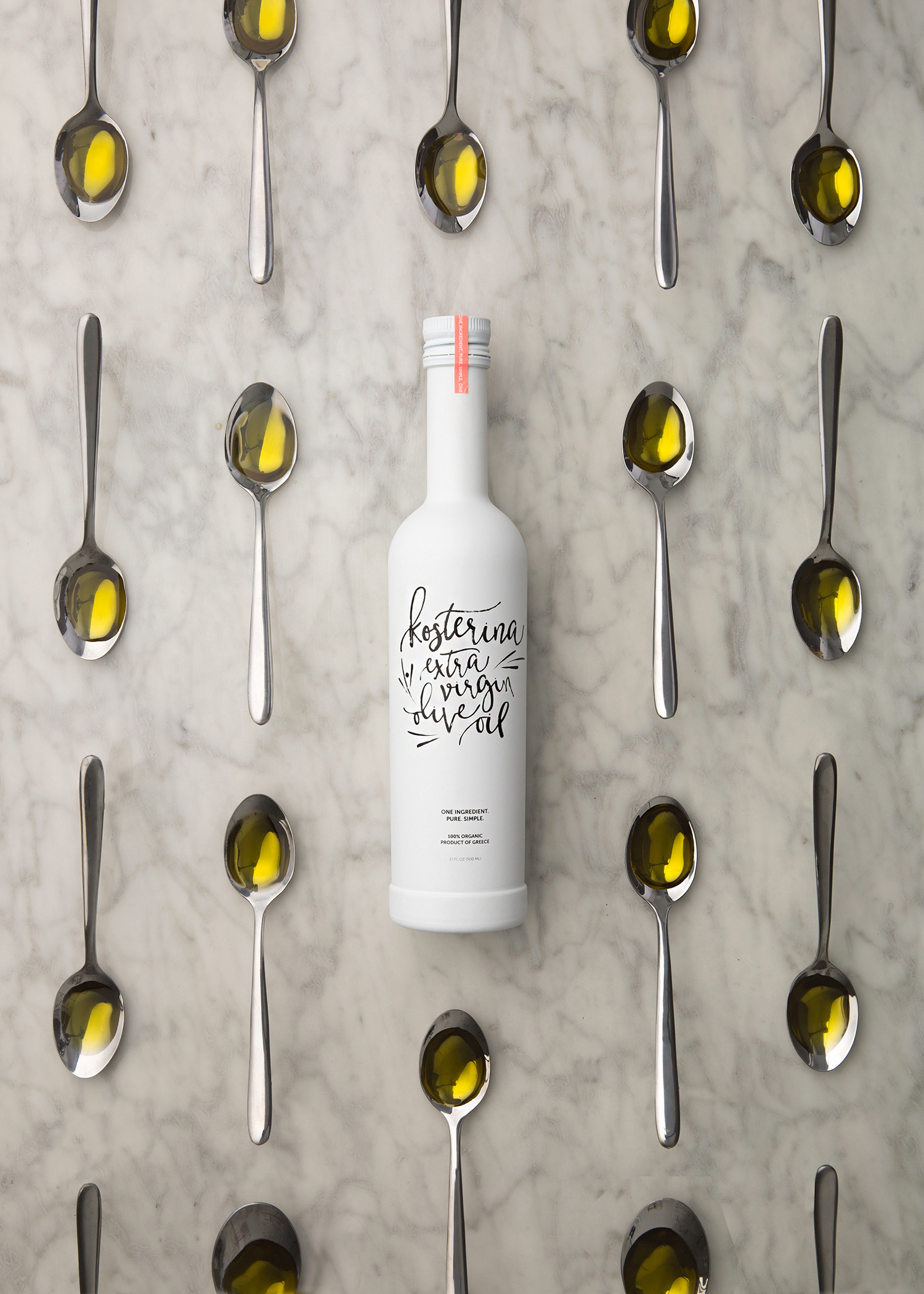 kosterina olive oil with spoons