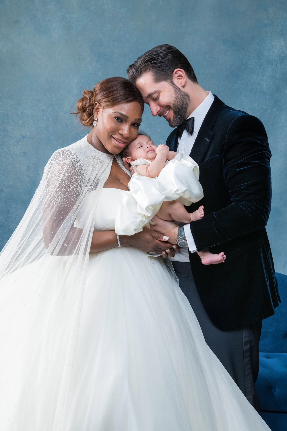 Serena Williams and Alexis Ohanian Wedding Day