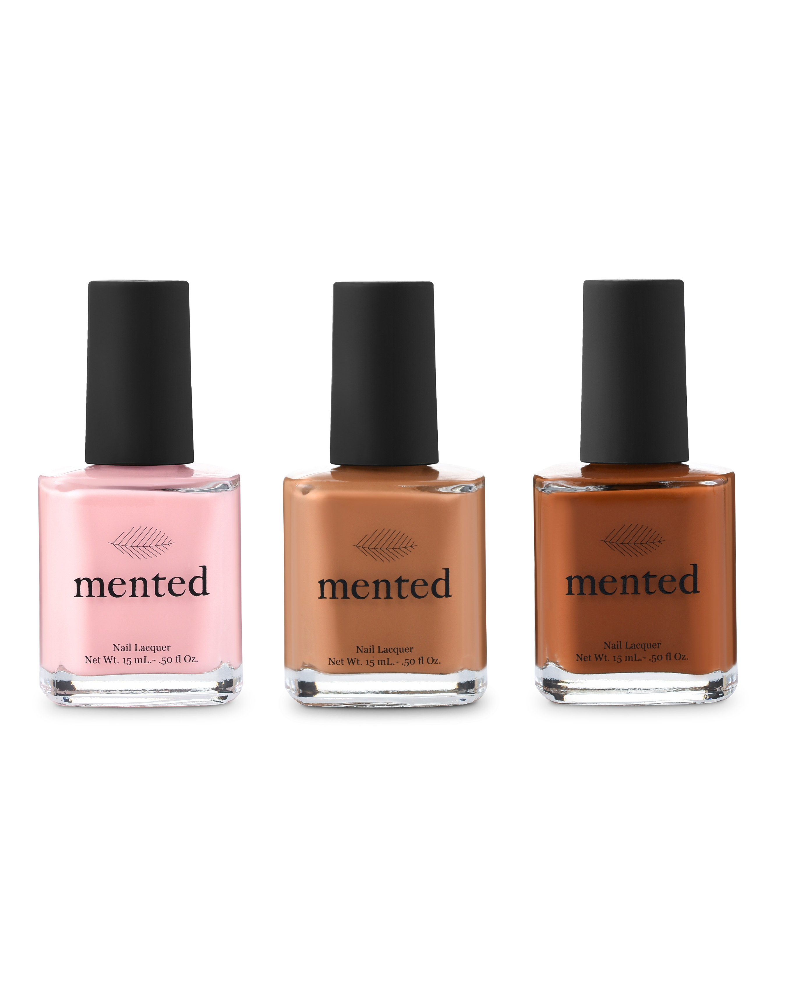 mented nude nail collection