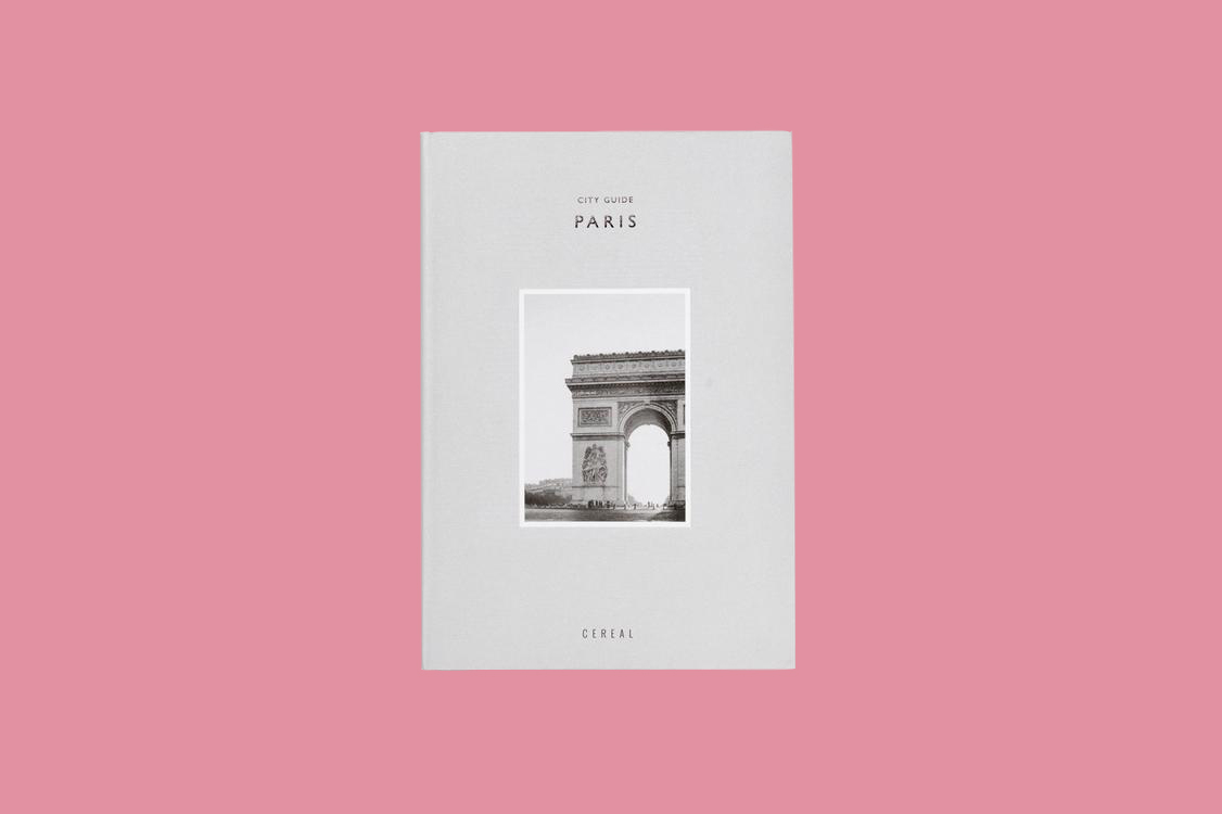 cereal city paris travel guide book