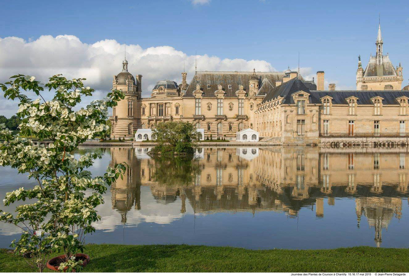 paris domaine de chantilly